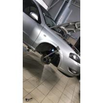 Установка пневмоподвески на Nissan Almera Classic