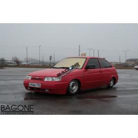 Установка пневмоподвески на ВАЗ 2112 Coupe Red