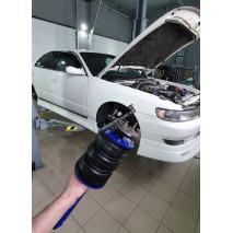 Установка пневмоподвеска на Toyota CHASER