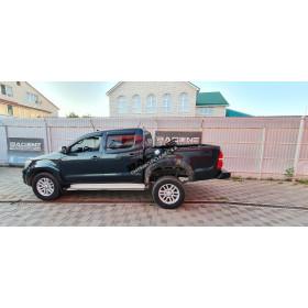 Установка пневмоподвески на Toyota Hilux 7