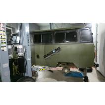 Установка пневмоподвески УАЗ 452, Буханка