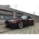 Установка пневмоподвески на BMW Z4 E85