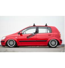 Пневмоподвеска на Hyundai Getz 2002-2011