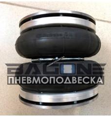 """Пневмоподушка Dunlop 152x2 (6"""" х 2) (в сборе)"""