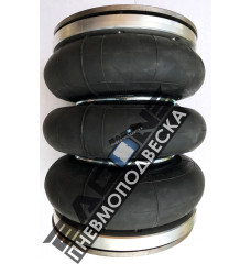 """Пневмоподушка Dunlop 152x3 (6"""" х 3) (в сборе)"""
