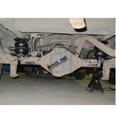 Пневмоподвеска на FORD Transit задний привод, полный привод, односкатная ошиновка 00-14 (задняя ось)