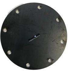 Крышка сталь 5мм для РКО 125 (8 отв.глухая)