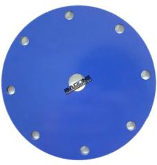 Крышка сталь 5мм для РКО 125 (9 отв. ЦО ф14,5мм)