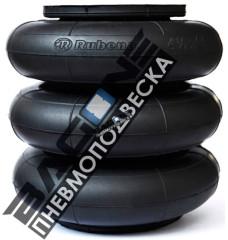 """Пневмоподушка Dunlop 4 1/2""""x3  (114 x 3) (сильфон)"""