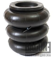 """Пневмоподушка Dunlop 152x3 (6"""" х 3) (сильфон)"""